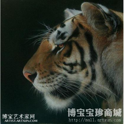 > 张森 虎 类别: 动物油画